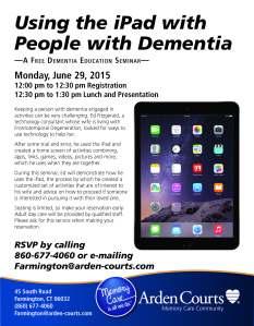 June 29 - Arden - iPad Seminar