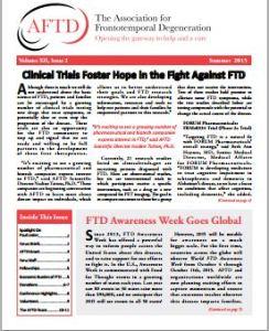 AFTD newsletter