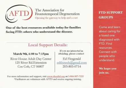 FTD Support Group Announcement